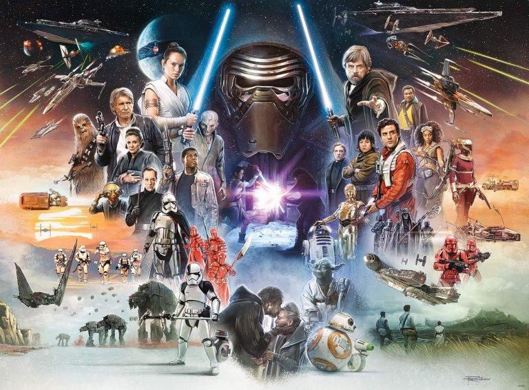 Star Wars 9 El Ascenso De Skywalker Póster Secuela